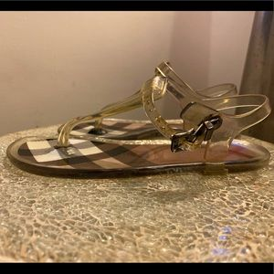 Burberry Jelly Sandal Clear  Kids Size 30
